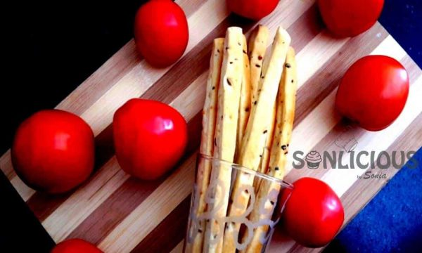 Healthy Breadsticks for soup