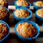 Carrot Date Muffins