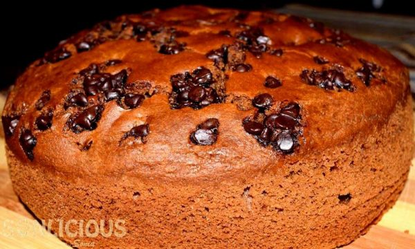 Coffee Date cake with whole wheat