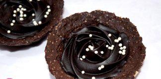 Eggless Chocolate Tart