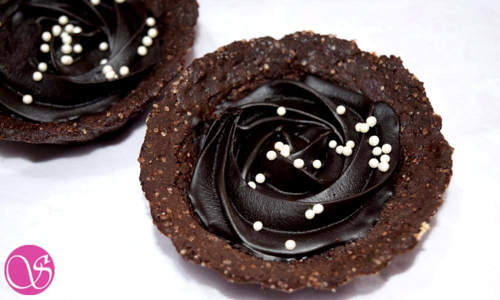 Eggless Chocolate Tart