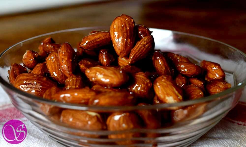 Honey Glazed Almonds