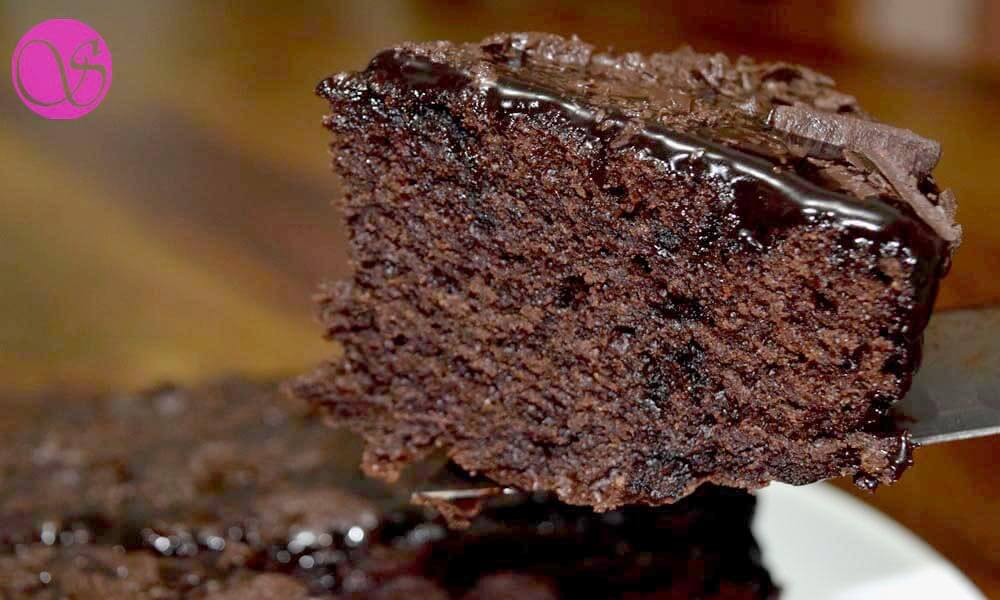 Eggless Swiss Chocolate Cake Recipe