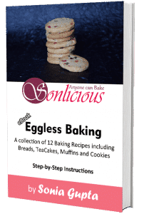 Eggless Baking with Sonia Book