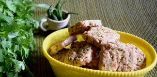 Savory Vegetable Cookies