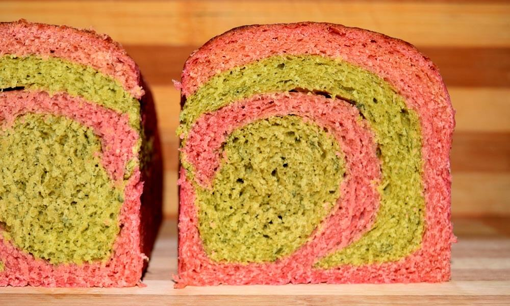 Spinach Beetroot Bread