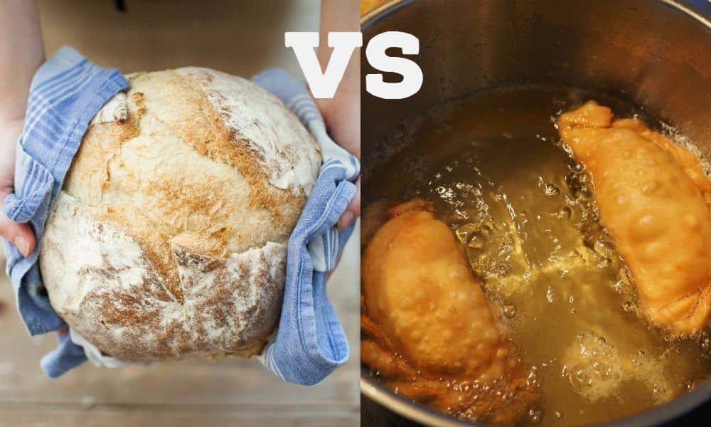 Baking vs Frying