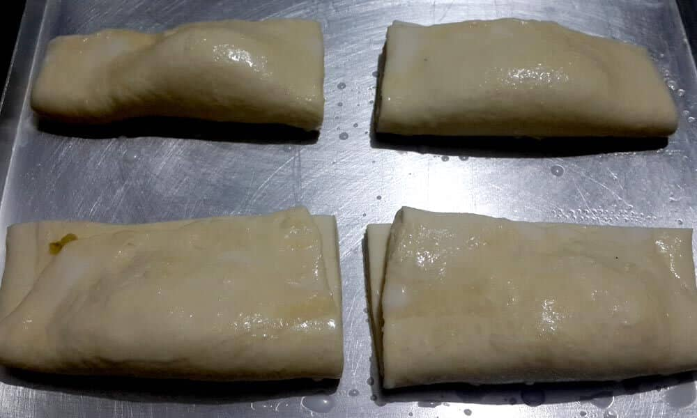 Puff Pastry ready for baking