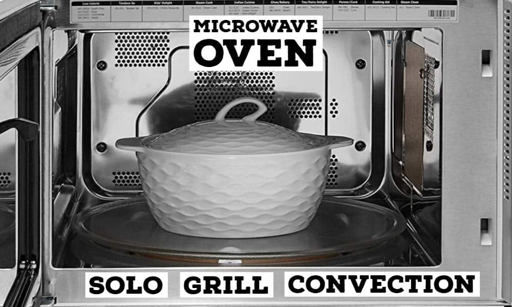 Microwave Oven Types