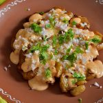 Baked Cajun potatoes