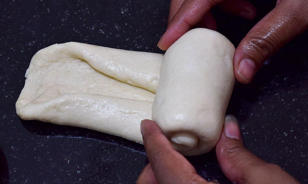 Shaping of Breakfast rolls