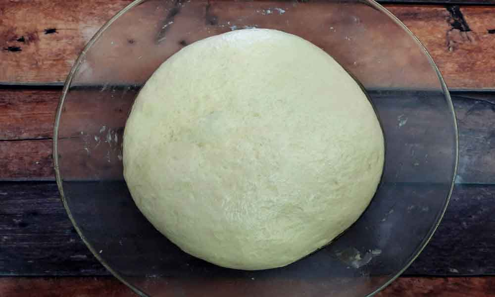 Subaway-Sandwich-Bread-Dough-Before-Proofing