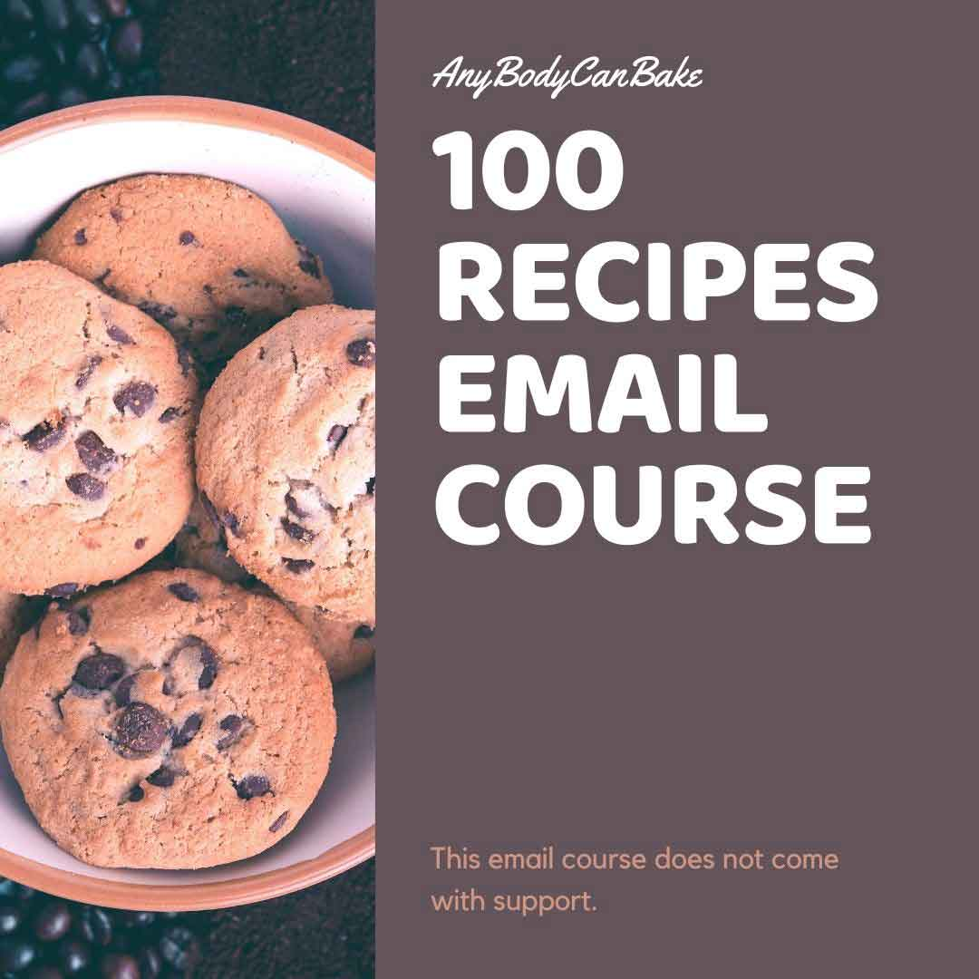 100 recipe email course
